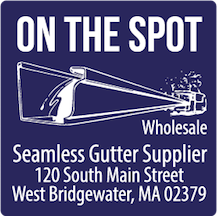 On The Spot Wholesale Gutter Supply Massachusetts